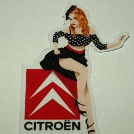 Pin-Up Citroën