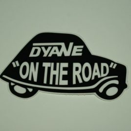 Dyane on the road