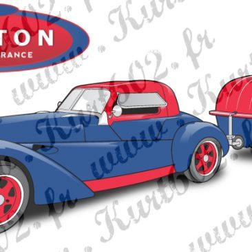 Cartes Postales Burton