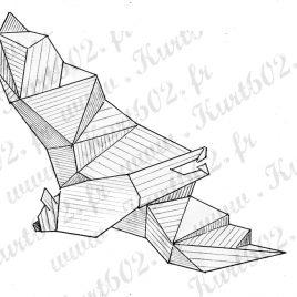Chauve-souris Origami
