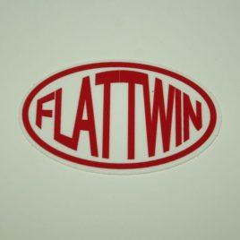 FLAT TWIN ovale