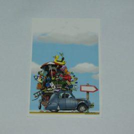 Carte Postale Chargée