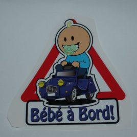 Bébé à Bord (garçon)