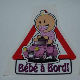 Bébé à Bord (fille)