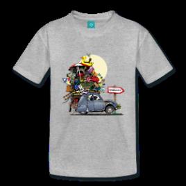 T-Shirt : Deuch Chargée (2CV)