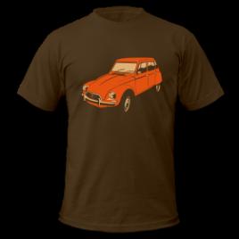 T-Shirt : Dyane orange