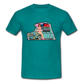 T-Shirt : Pin up dyane